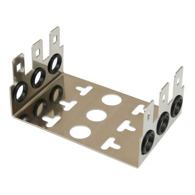 Монтажный хомут 2/10 на 3 модуля, гл. 22мм, шаг 22,5 мм