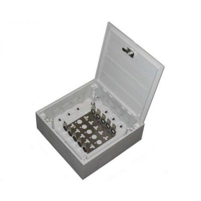 KRONECTION BOX II, на 50 пар, с монтажным хомутом 2/10, дверь с поворотным запором 6406 1 015-20