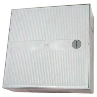 KRONECTION BOX II на 50 пар, с монтажным хомутом 2/10, дверь с цилиндрическим замком 6406 1 015-21