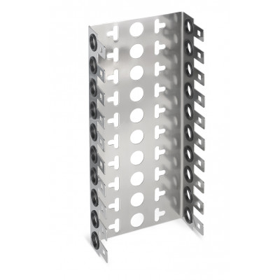 Монтажный хомут 2/10 на 10 модулей, гл. 22мм, шаг 22,5 мм