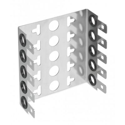 Монтажный хомут 2/10 на 5 модулей, гл. 22мм, шаг 22,5 мм