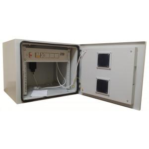 Всепогодный телекоммуникационный шкаф 12U, гл. 600 мм