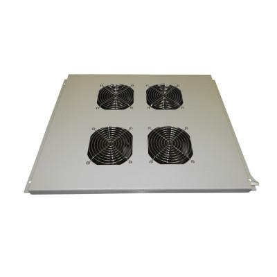 Модуль вентиляторный на 4 вентилятора 600х800, серый