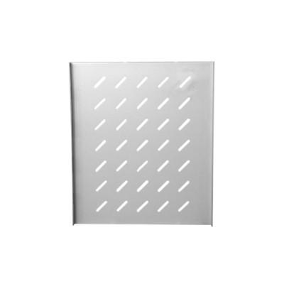 """Полка 19"""" стационарная для шкафа гл. 800, цвет-серый"""