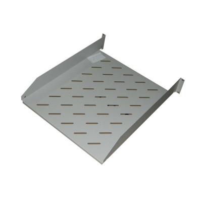 Полка консольная 2U гл. 450 мм, цвет - серый