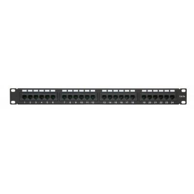 "Патч-панель 19""/24 порта/RJ45/ dual IDC, кат. 5е"