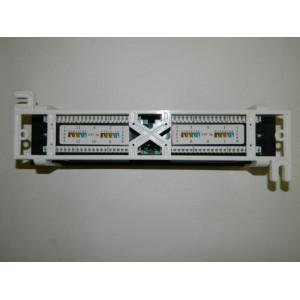 Патч-панель настенная 12 портов/RJ-45/ dual IDC с подставкой