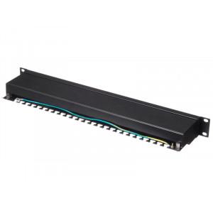 """Патч-панель 19""""/24 порта/RJ45/Krone тип, кат.5е/ экранированная"""