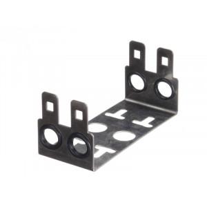 Монтажный хомут 2/10 на 2 модуля, гл. 22мм, шаг 22,5 мм