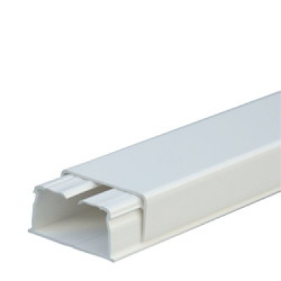 LEGRAND 030027 каб-кан 40x20мм, без перегородки, с крышкой, длина 2.10м, цвет белый (цена за 1 метр)