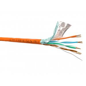 "Кабель FTP 4 cat.5e, FRLS, оранжевый, бухта 305м ""LanCable"""