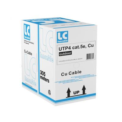 """Кабель UTP 4 cat.5e, наружный, бухта 305м """"LanCable"""""""
