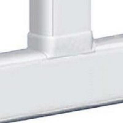 LEGRAND 010740 Отвод плоский с переходом на кабель-канал шириной 105мм, для кабель-канала 105х50мм