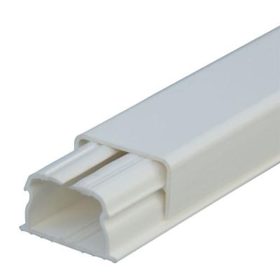 LEGRAND 030008 каб-кан 20x12.5мм, без перегородки, с крышкой, длина 2.10м, цвет белый