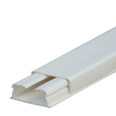LEGRAND 030015 каб-кан 32х12.5мм, без перегородки, с крышкой, длина 2.10м, цвет белый