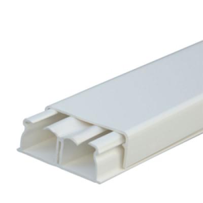 LEGRAND 030021 каб-кан 40х16мм, c центральной перегородкой, с крышкой, длина 2.10м, цвет белый