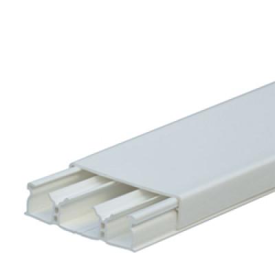 LEGRAND 030026 Кабель-канал 60х16мм, 3 секции, с крышкой, длина 2.10м, цвет белый (цена за 1 метр)