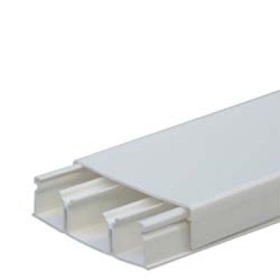 LEGRAND 030033 Кабель-канал 75х20мм, 3 секции, с крышкой, длина 2.10м, цвет белый (цена за 1 метр)