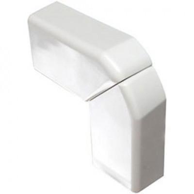 LEGRAND 030303 Угол плоский переменный для кабель-канала 75х20мм, цвет белый
