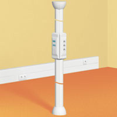LEGRAND 030703 Распределительная колонна 4-х секцион. 2.7м (регулируется 2.7-3.8 метра)