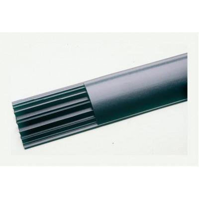 LEGRAND 032800 Напольный кабель-канал 92x20мм, 4 секции, цвет серый (цена за 1 метр)