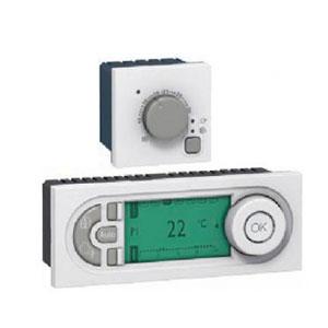 LEGRAND 076720 Электронный термостат комнатный, 2М, 5-30°C, Mosaic