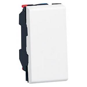 LEGRAND 077000 Выключатель 2-х позиционный, 1М, белый, Mosaic