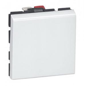 LEGRAND 077010 Выключатель 2-х позиционный, 2М, белый, Mosaic