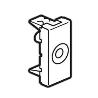LEGRAND 077552 Вывод для провода, 1М, 8 мм, Mosaic