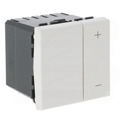 LEGRAND 078404 Светорегулятор, 2М, 0-10 В, белый, Mosaic