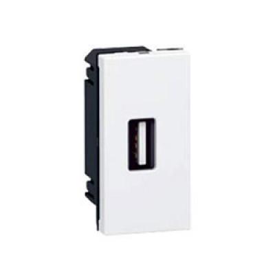 LEGRAND 078761 Модуль розетки для подключения устройств USB, 1М, Mosaic