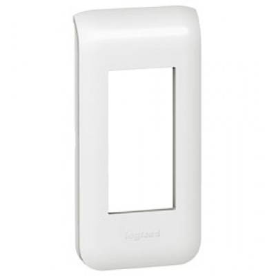 LEGRAND 078801 Декоративная рамка M45, 1М, белая, Mosaic