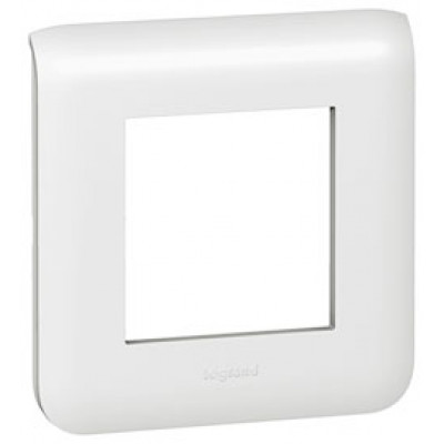 LEGRAND 078802 Декоративная рамка M45, 2М, белая, Mosaic