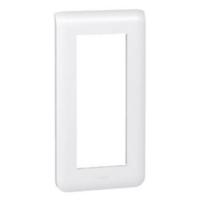 LEGRAND 078825 Декоративная рамка M45, 5М, вертикальная установка, белая, Mosaic