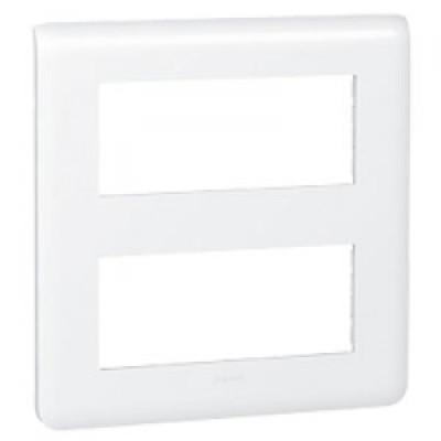 LEGRAND 078830 Декоративная рамка M45, 2Х5М, белая, Mosaic