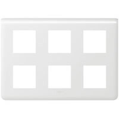 LEGRAND 078832 Декоративная рамка M45, 2Х3Х2М, белая, Mosaic