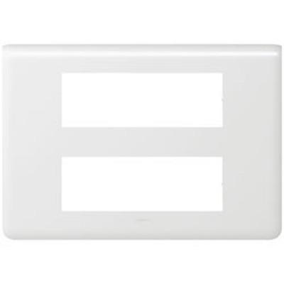 LEGRAND 078836 Декоративная рамка M45, 2Х6М, белая, Mosaic