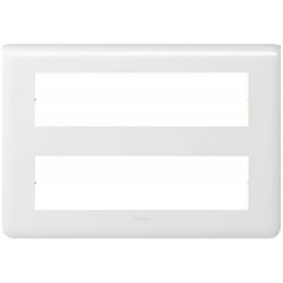 LEGRAND 078837 Декоративная рамка M45, 2Х8М, белая, Mosaic