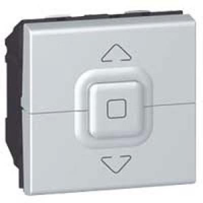 LEGRAND 079226 Выключатель управления приводами, 2М, 500 Вт макс., алюминиевый, Mosaic