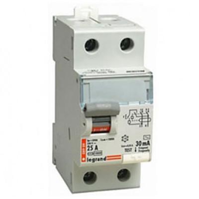 LEGRAND 403000 (602136) Дифференциальный выключатель, серия TX3, 25A, 30mA, 2-полюсный, тип АС