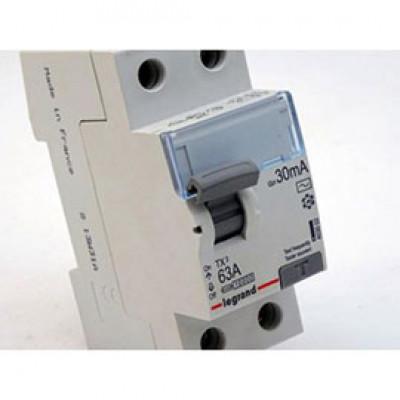 LEGRAND 403002 (602138) Дифференциальный выключатель, серия TX3, 63A, 30mA, 2-полюсный, тип АС