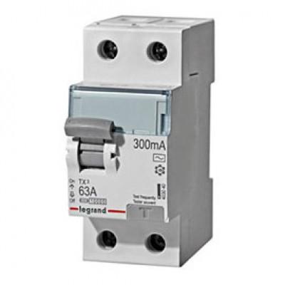 LEGRAND 403040 (602144) Дифференциальный выключатель, серия TX3, 63A, 300mA, 2-полюсный, тип АС