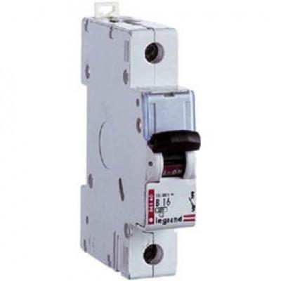 LEGRAND 403972 Автоматический выключатель, серия TX3, C6A, 2-полюсный