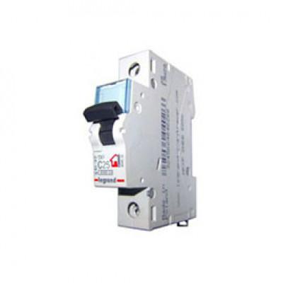 LEGRAND 404030 (604807) Автоматический выключатель, серия TX3, С25A, 1-полюсный