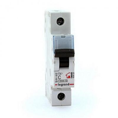 LEGRAND 404031 (604808) Автоматический выключатель, серия TX3, С32A, 1-полюсный
