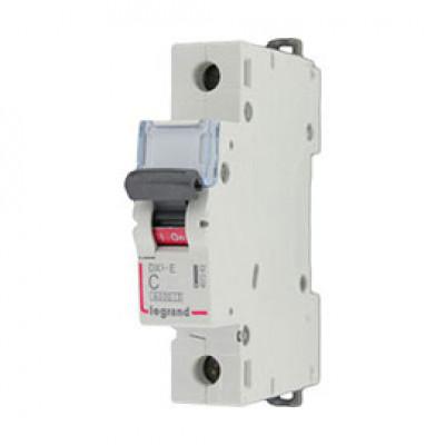 LEGRAND 407257 Автоматический выключатель, серия DX3-E, C2А, 6kA, 1-полюсный