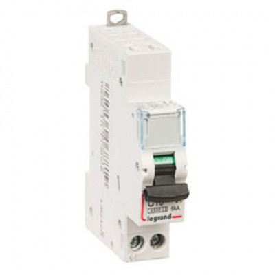 LEGRAND 407262 Автоматический выключатель, серия DX3-E, С13A, 6kA, 1-полюсный