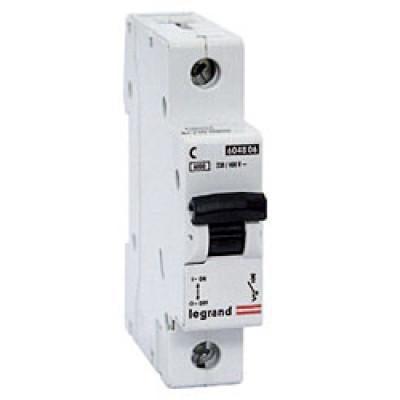 LEGRAND 407265 Автоматический выключатель, серия DX3-E, С25A, 6kA, 1-полюсный