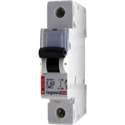 LEGRAND 407676 Автоматический выключатель, серия DX3, С63A, 10kA, 1-полюсный
