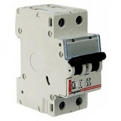 LEGRAND 407794 Автоматический выключатель, серия DX3, С3A, 10kA, 2-полюсный